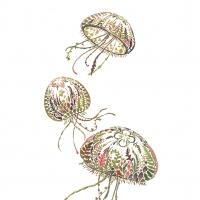 Servietten 25x25 cm - Green Medusa