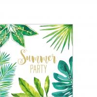 Servietten 25x25 cm - Jungle Summer Party