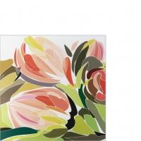 Servietten 25x25 cm - Tulip Fantasy