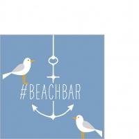 Servietten 25x25 cm - Beach Bar