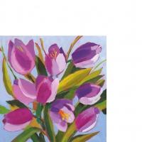 Servietten 25x25 cm - Tulips Musée