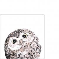 Servietten 25x25 cm - Owl