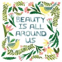 Servietten 25x25 cm - Beauty is around
