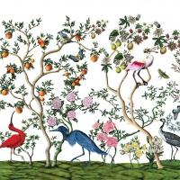 Servietten 25x25 cm - Bird Chinoiserie