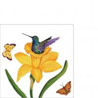 Servietten 25x25 cm - Daffodil Nest