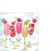 Servietten 25x25 cm - Happy Drinks