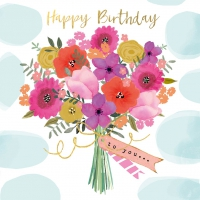 Servietten 25x25 cm - Happy Flowers Napkin 25x25
