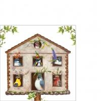 Servietten 25x25 cm - House Party