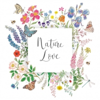 Servietten 25x25 cm - Nature Love