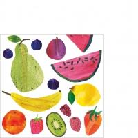 Servietten 25x25 cm - Tutti Frutti