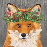 Servietten 25x25 cm - Winter Berry Fox