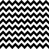 Servietten 33x33 cm - Chevron black