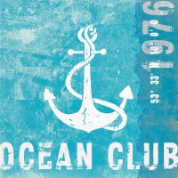 Lunch Servietten Ocean Club