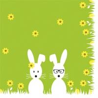Lunch Servietten Mr. & Mrs. Bunny