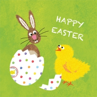 Servietten 33x33 cm - Easter Buddies