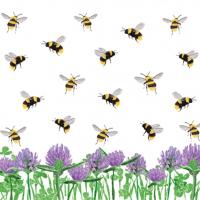 Lunch Servietten Honey Bees & Clover