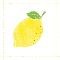 Lunch Servietten Fashion Lemon