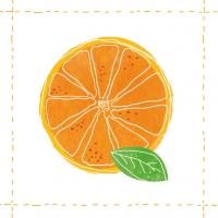 Lunch Servietten Fashion Orange