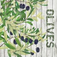 Lunch Servietten Harvest Olives