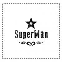 Servietten 33x33 cm - Super Mann