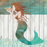Servietten 33x33 cm - Waterside Mermaid