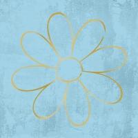 Servietten 33x33 cm - Blume