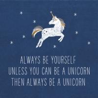 Servietten 33x33 cm - Always Unicorn