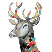 Servietten 33x33 cm - Regalia Deer