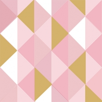 Servietten 33x33 cm - Miramar rosé gold