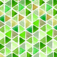 Servietten 33x33 cm - Aquarell Triangle greenery