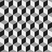 Servietten 33x33 cm - Epoque black