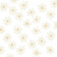 Servietten 33x33 cm - Sparkling gold