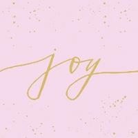 Servietten 33x33 cm - Joy rosé