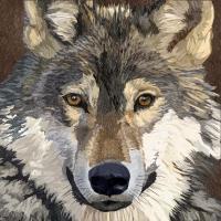 Lunch Servietten Sauvage Wolf