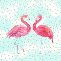 Servietten 33x33 cm - Flamingo Fantasy