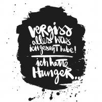 Lunch Servietten Hunger!