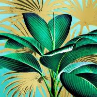 Servietten 33x33 cm - Tropical Leaves