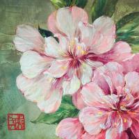 Servietten 33x33 cm - Jolies Roses