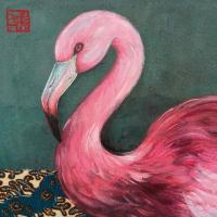 Servietten 33x33 cm - Joli Flamingo