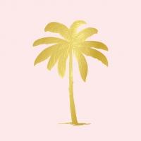 Servietten 33x33 cm - Palm Fantasy