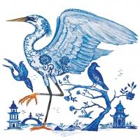 Servietten 33x33 cm - Prince's Egret