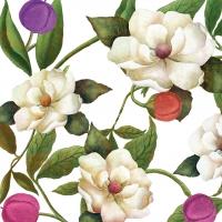 Servietten 33x33 cm - Südliche Magnolien