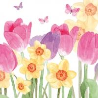 Servietten 33x33 cm - Hello Spring