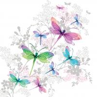 Servietten 33x33 cm - Dragonfly Groove