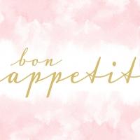 Servietten 33x33 cm - Appetit rosé