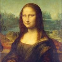 Servietten 33x33 cm - Mona Lisa (La Gioconda)