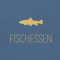 Servietten 33x33 cm - Fischessen