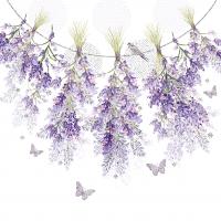 Servietten 33x33 cm - Hanging Lavender