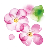 Servietten 33x33 cm - Blossom