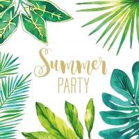 Servietten 33x33 cm - Jungle Summer Party